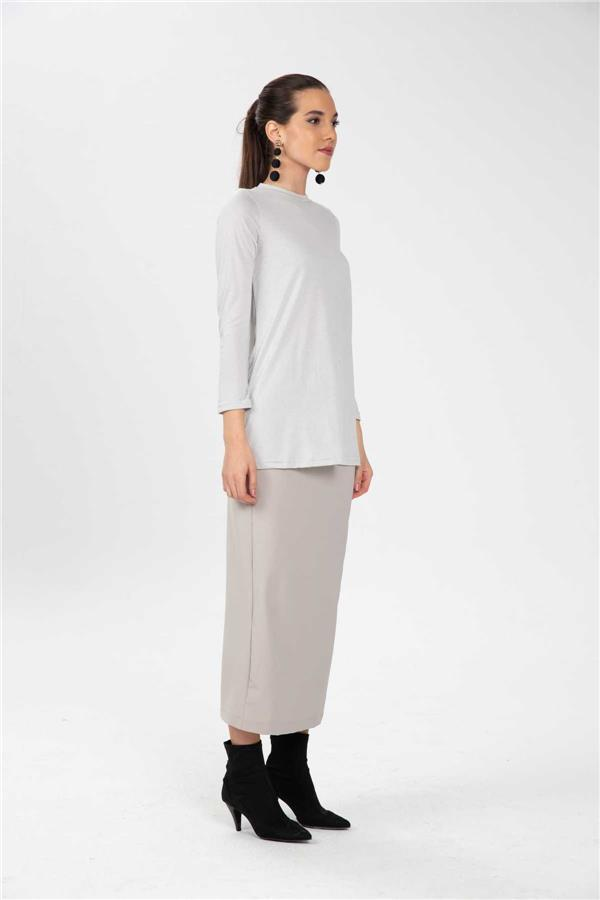 Basic Tunic Gray