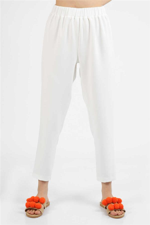 White Hurrem Pants