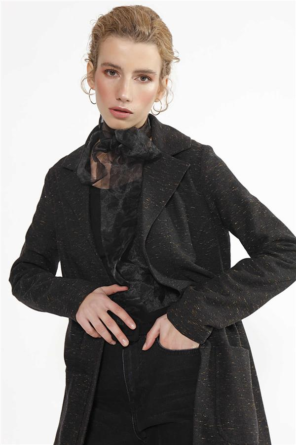 Flecked Black Jacket
